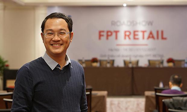 Giám đốc nhân sự FPT Chu Quang Huy. Ảnh: CT