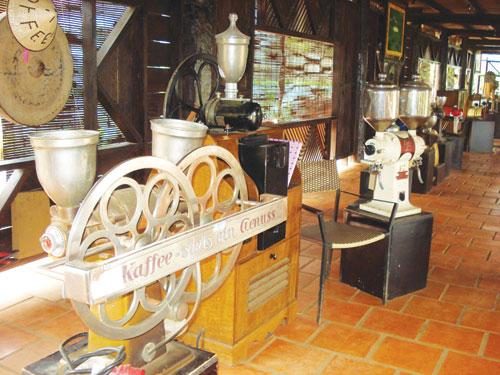 Máy pha chế cà phê của Đức sản xuất năm 1890