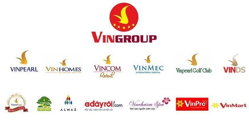 Các thương hiệu tập đoàn Vingroup của tỷ phú Phạm Nhật Vượng