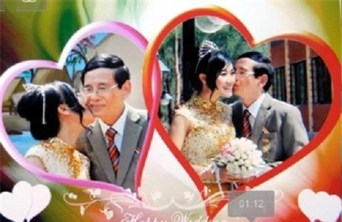 Đại gia Lê Ân từng chi không ít tiền để cưới vợ trẻ. (Ảnh: Chụp màn hình)