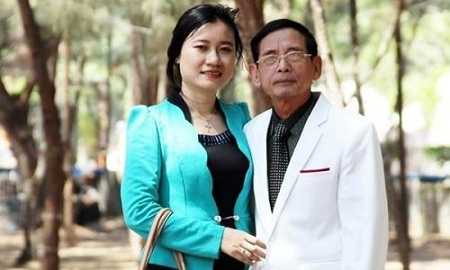 Lê Ân và vợ có duyên gặp nhau khi cô tới công ty ông thực tập. (Ảnh: Vietnamnet)
