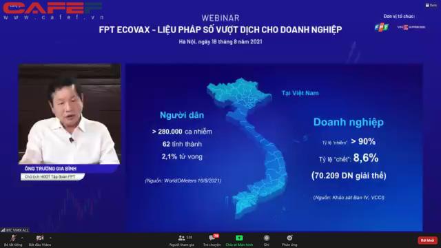 Ông Trương Gia Bình: Chúng tôi đề xuất ngân hàng chi trả chi phí cố định như điện, nước cho doanh nghiệp - Ảnh 1.